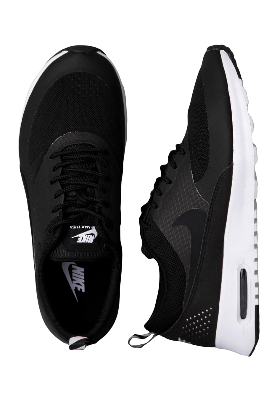 bb1d20e36ef Nike - Air Max Thea Black Black Geyser Grey - Girl Shoes - Impericon.com  Worldwide