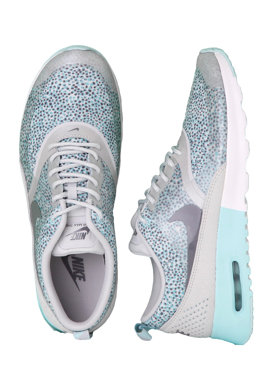 buy popular 4db56 66d05 Nike - Air Max Thea Print Light Grey/Cool Grey/Ice White - Girl Shoes