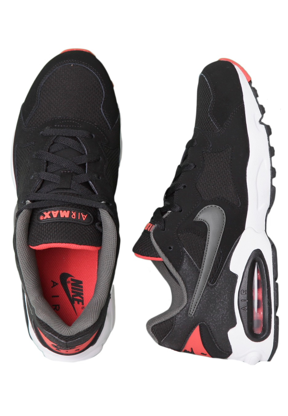 c942b00888a Nike - Air Max Triax 94 Black Dark Grey Light Crimson - Shoes -  Impericon.com Worldwide