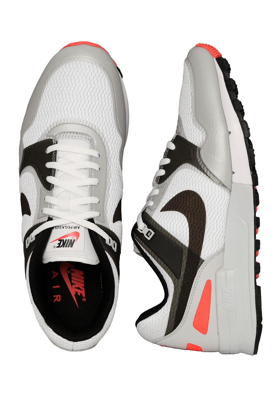 buy online d14d2 a9e60 Nike - Air Pegasus  89 NS White Anthracite Bright Crimson - Shoes -  Impericon.com UK