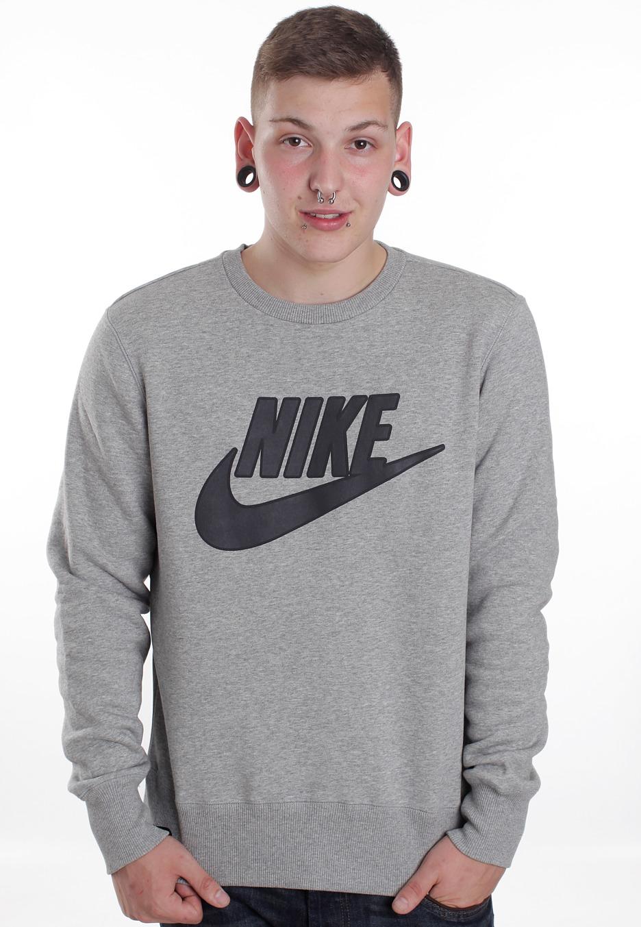 5c14b6192d5c Nike - Brushed Dark Grey Heather - Sweater - Streetwear Shop -  Impericon.com Worldwide