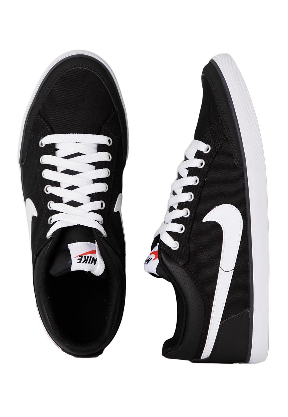 Nike - Capri III Low TXT Black White Anthracite - Shoes - Impericon.com UK 8bd09b62f
