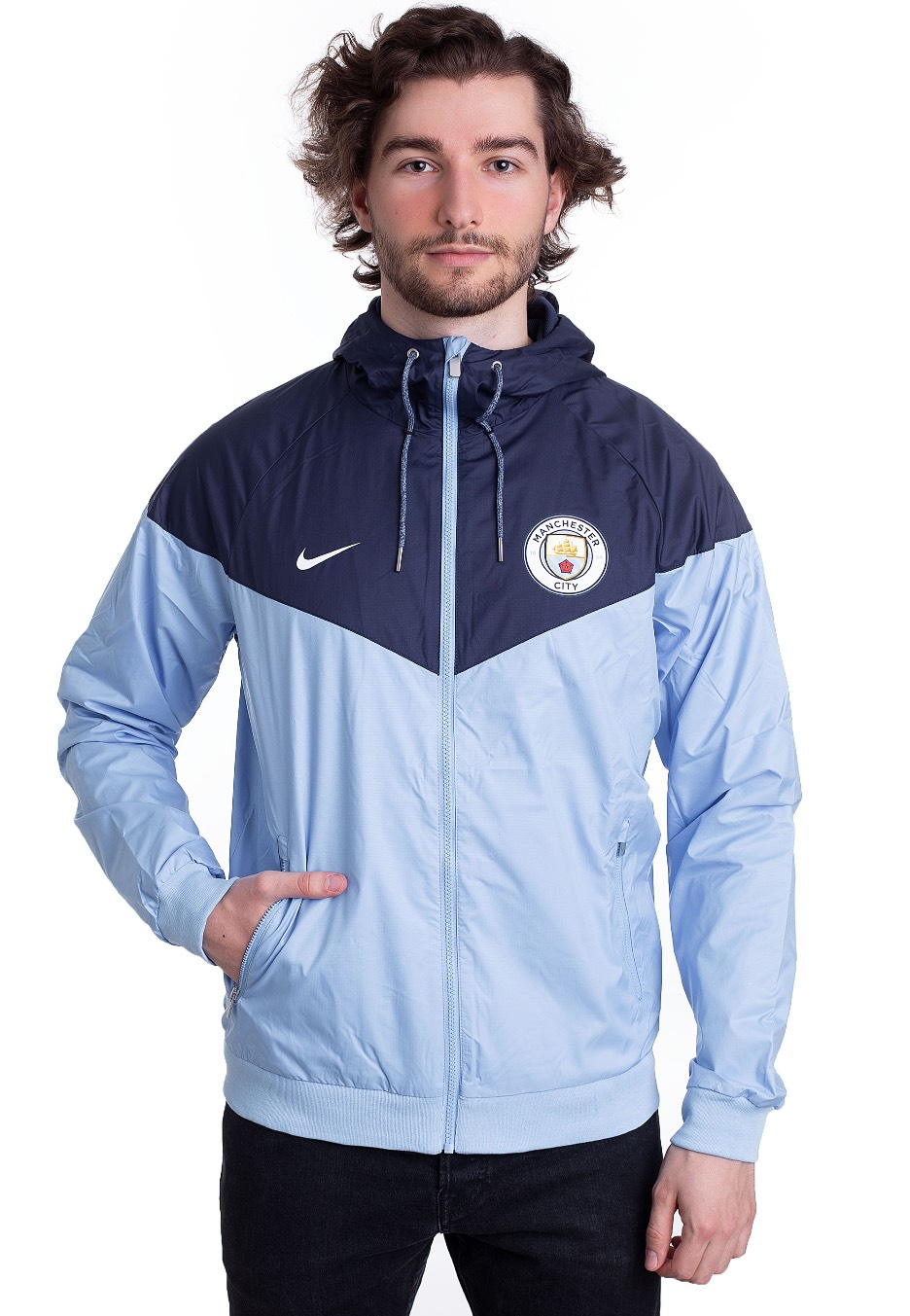 f0eb3a05b7 Nike - Manchester City FC Windrunner Field Blue Midnight Navy White - Jacket  - Streetwear Shop - Impericon.com Worldwide
