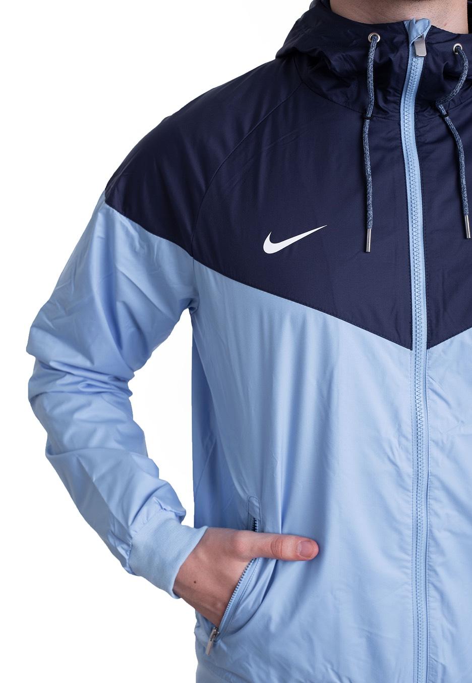 af7238516336 Nike - Manchester City FC Windrunner Field Blue Midnight Navy White - Dzseki