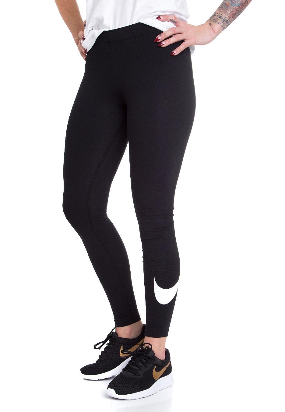 c9c400b31de68 Nike - Club Logo 2 Black/White - Leggings - Streetwear Shop - Impericon.com  UK