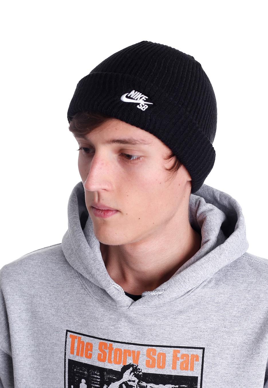751560e6b0f97 Nike - SB Fisherman Black White - Berretto - Negozio di streetwear ...