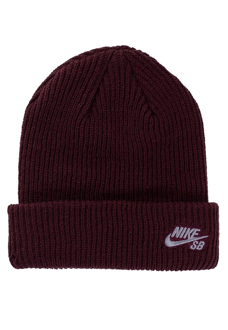 12e05f27 Nike SB - Fisherman Burgundy Crush/Gunsmoke - Beanie - Streetwear Shop -  Impericon.com Worldwide