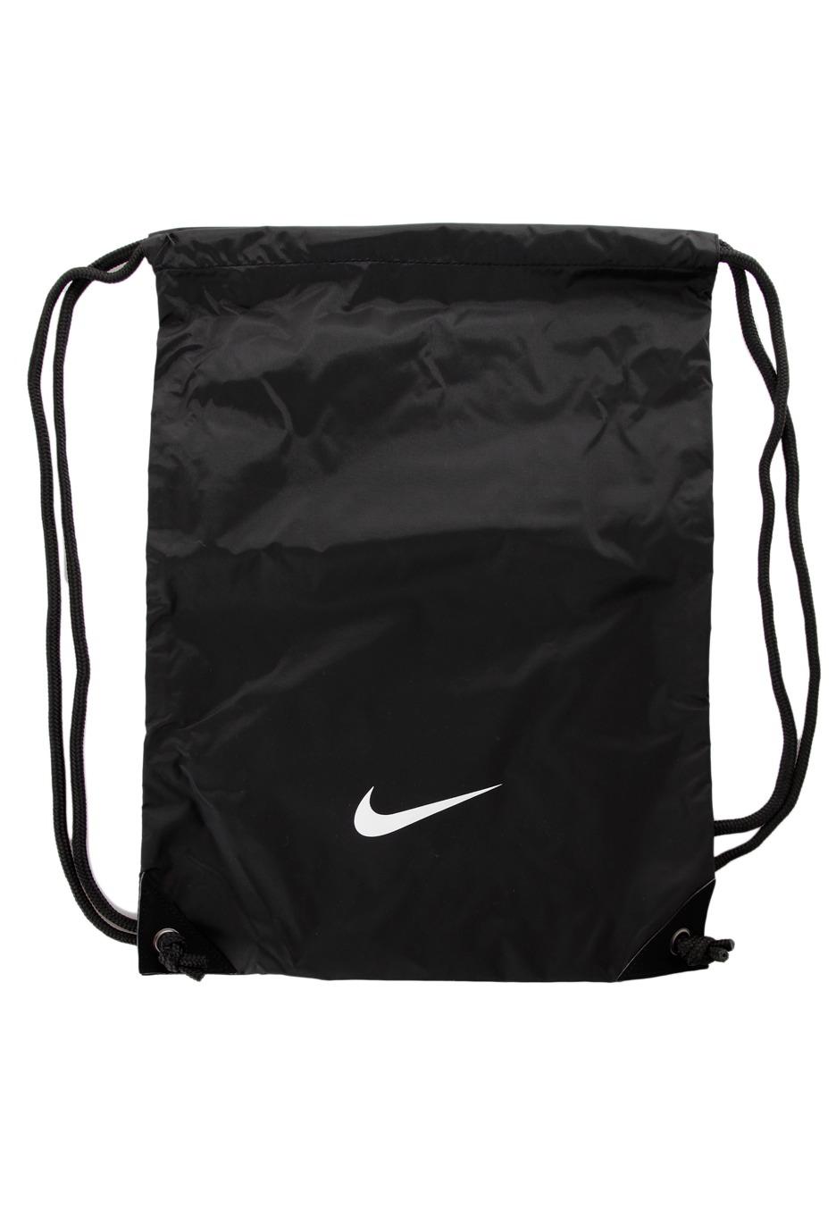 1e870f2a6e Nike - Fundamentals Swoosh Gymsack Black Black White - Backpack -  Streetwear Shop - Impericon.com UK