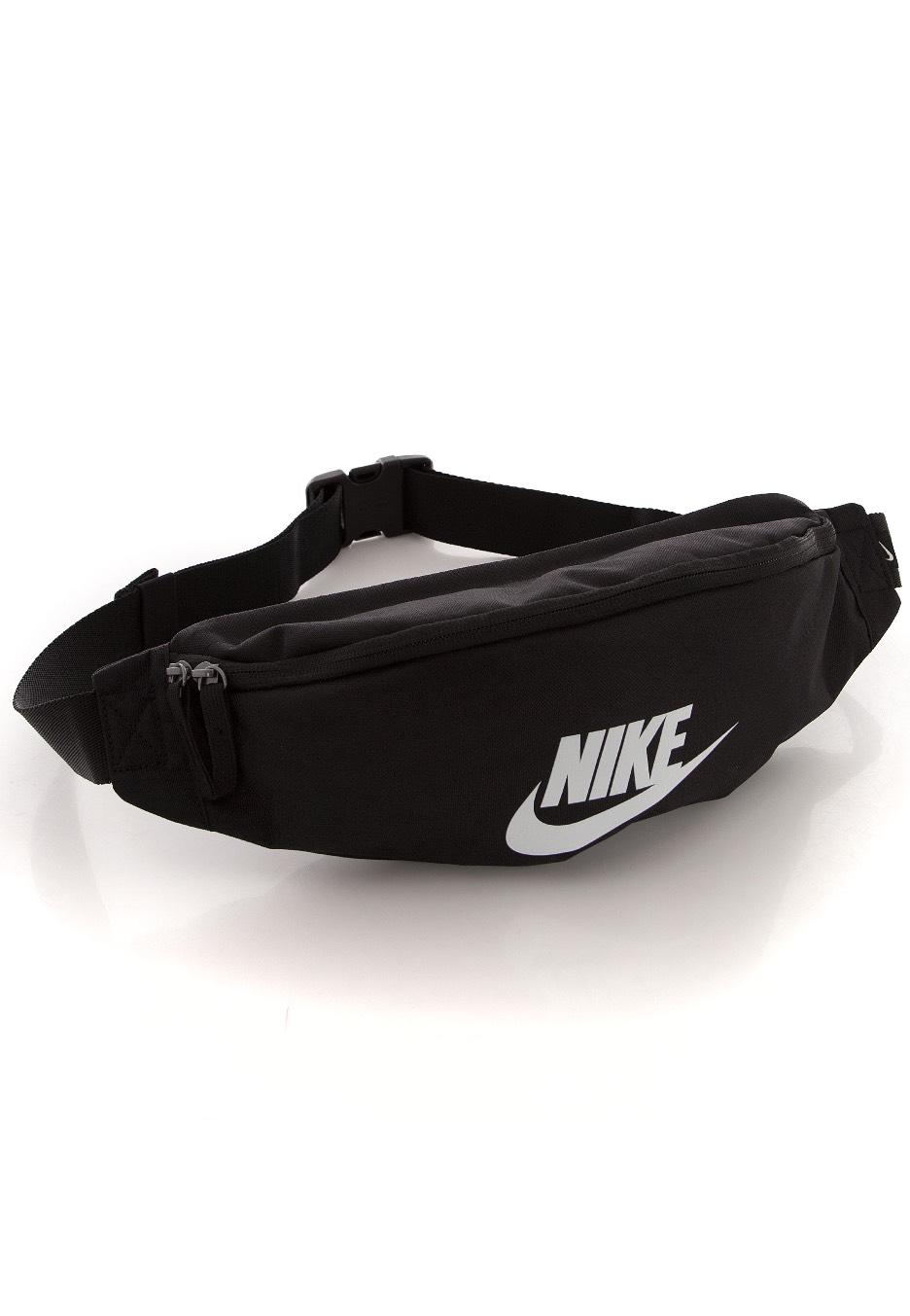 8bd6bd86d3 Nike - Heritage Black Black White - Hip Bag - Streetwear Shop -  Impericon.com Worldwide