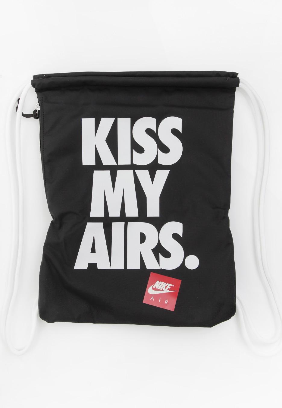 d4094ffb9c18e Nike - Heritage Graphic Gymsack Black White White - Backpack - Streetwear  Shop - Impericon.com UK