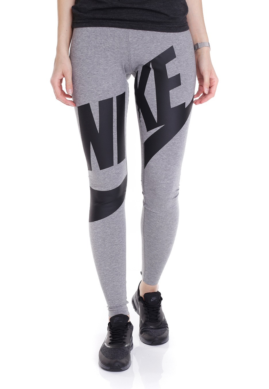 954a188cf21bb Nike - Leg-A-See Exploded Carbon Heather/Black - Leggings - Streetwear Shop  - Impericon.com US