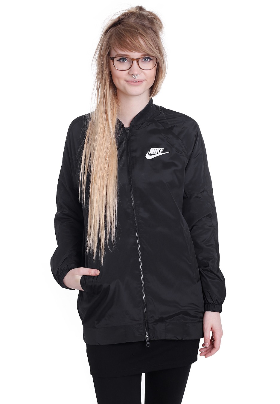 3569c4a56a996e Nike - Sportswear Advance 15 Black/White - Windbreaker