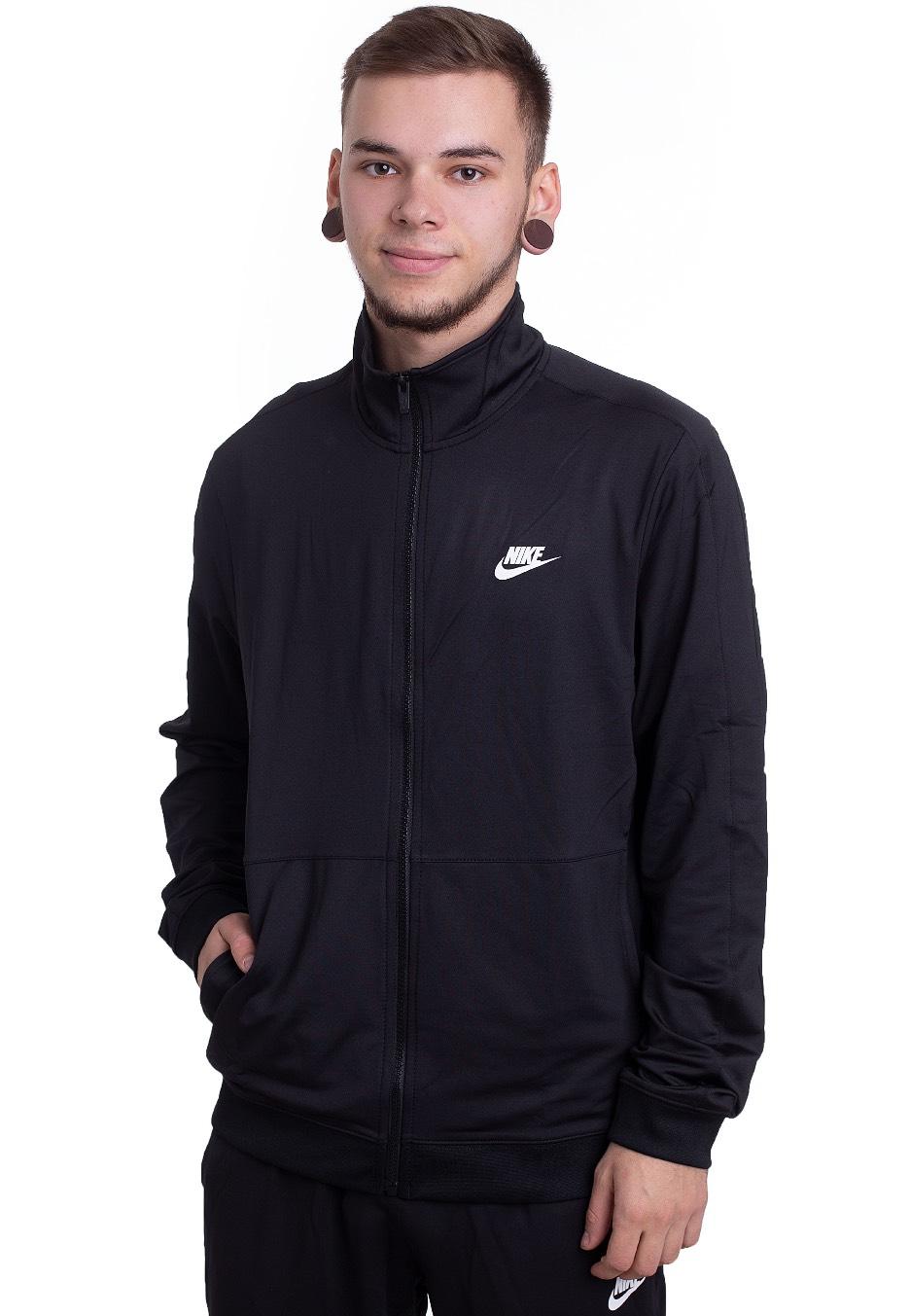 Nike NSW CE BlackBlackWhite Tracksuit