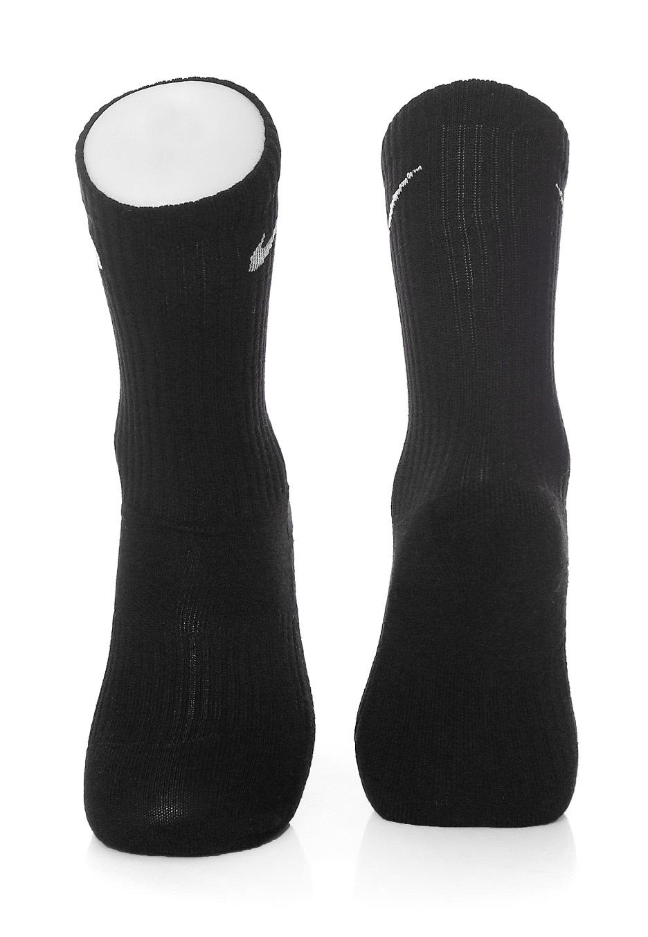 46fa5408c72 ... Nike - Peformance Cushion Crew Pack Of 3 Black White - Socks ...