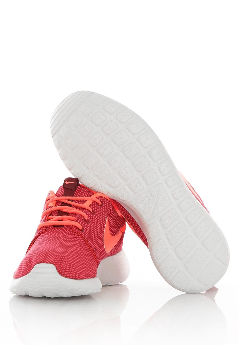 4ecf8c6d328b ... Nike - Roshe One Deep Garnet Bright Crimson Pure Platinum - Girl Shoes  ...