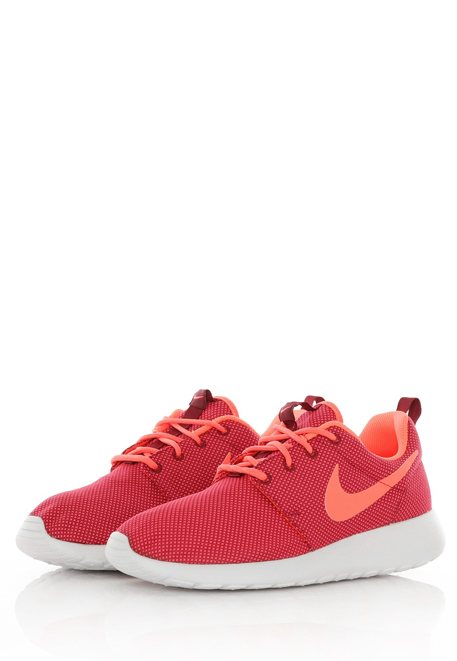 8ba22ca7a978 ... Nike - Roshe One Deep Garnet Bright Crimson Pure Platinum - Girl Shoes  ...