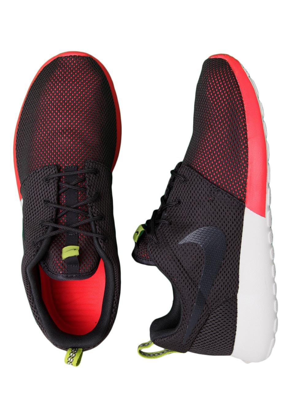 timeless design fd17b bf06d Nike - Roshe Run Anthracite Anthracite Venom Green Summit White - Shoes -  Impericon.com Worldwide