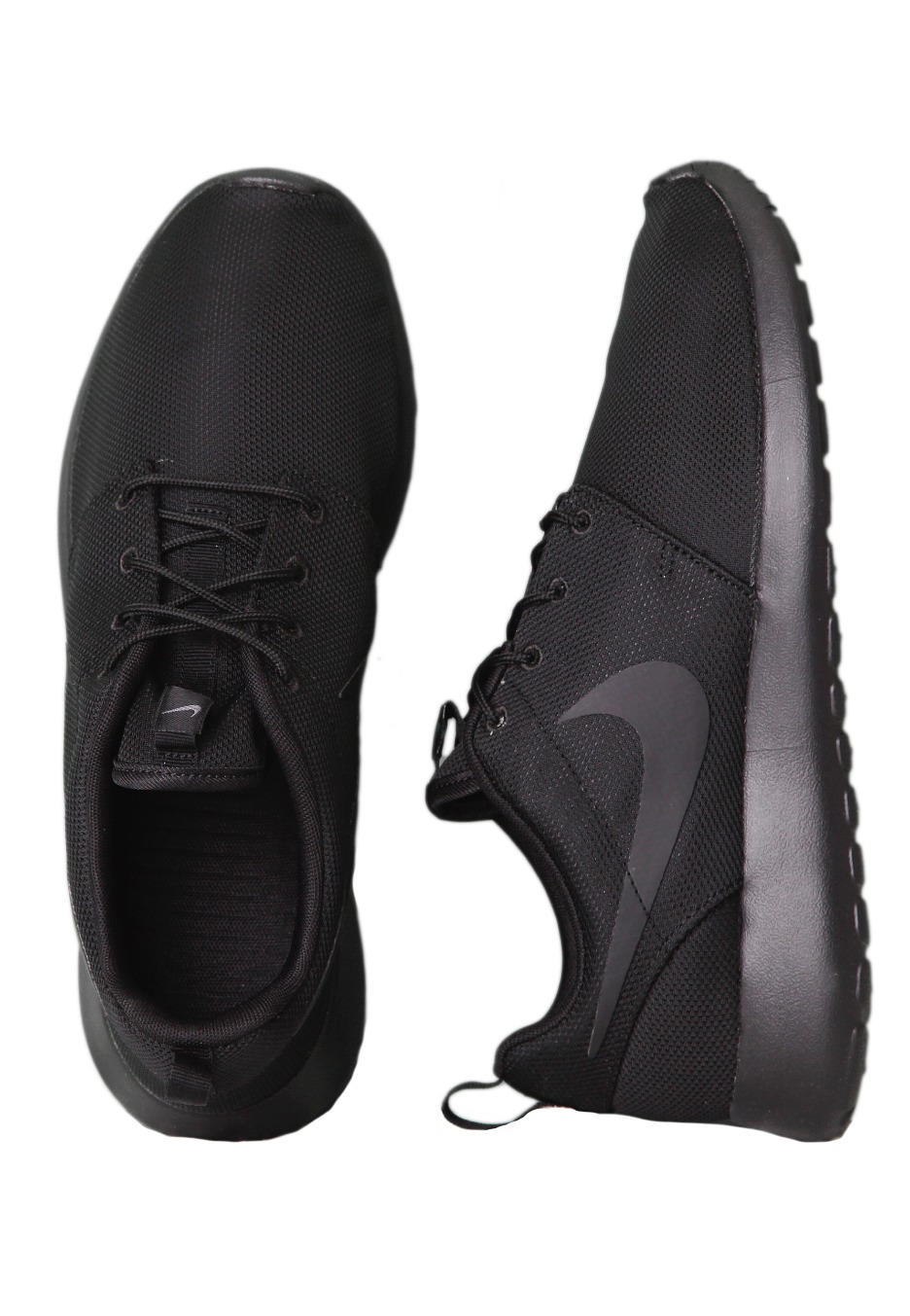 best website 0d787 8c553 Nike - Roshe Run Black/Black - Shoes