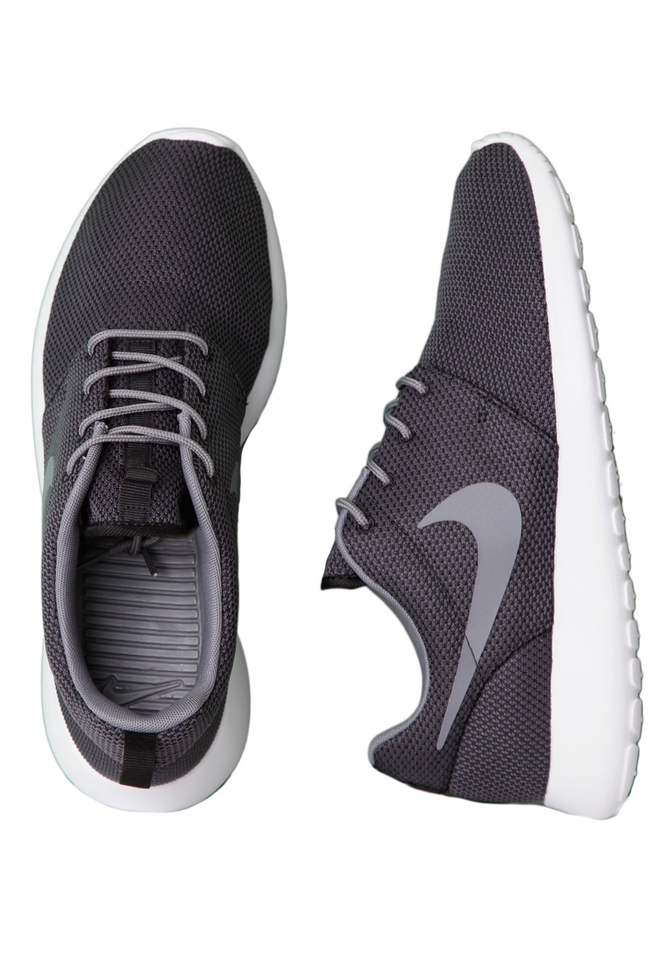 nike roshe run black cool gray
