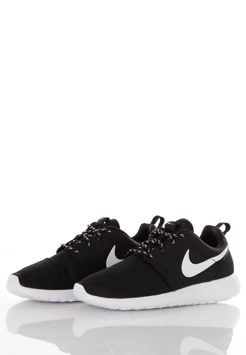 d827e94513f82 where to buy nike roshe run black white volt girl shoes 4f4ef 0119a