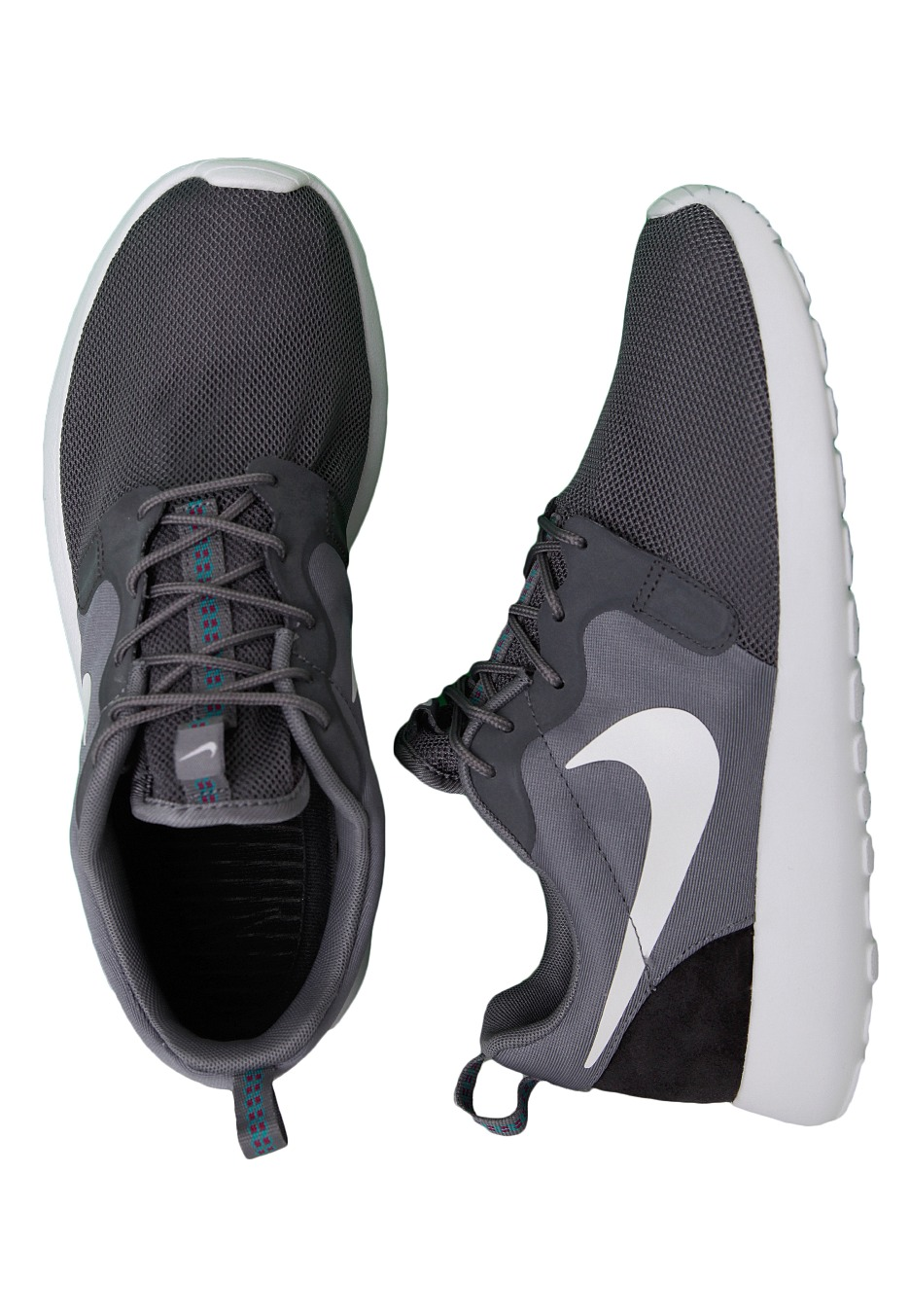 new product 71d2c 5c356 Nike - Roshe Run Hyperfuse Clear Grey White Anthracite Turbo Green - Shoes  - Impericon.com Worldwide