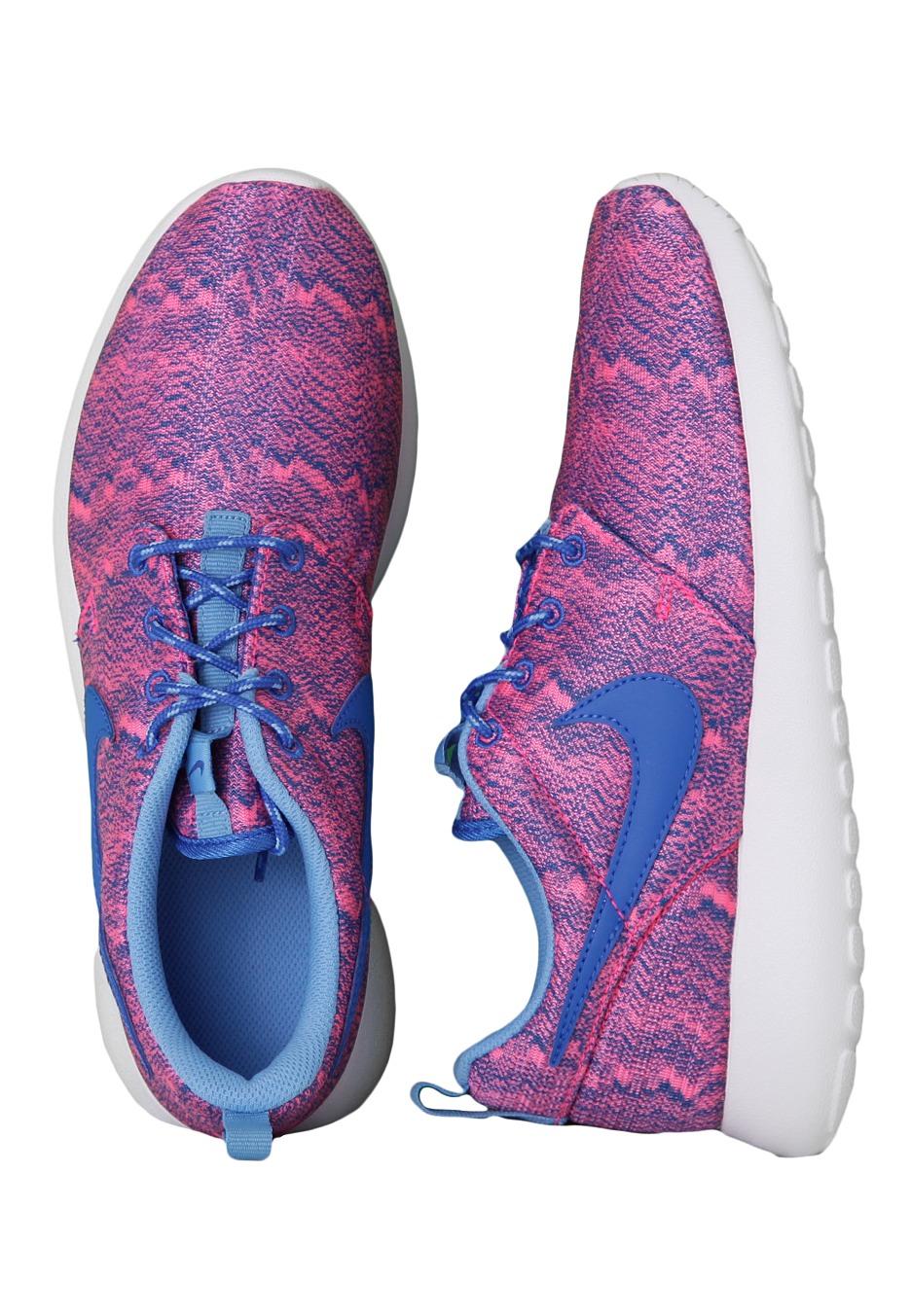 a5e849e32351 ... cobalt blue 1de42 809ef  norway nike roshe run print gs hyper pink  white girl shoes 71939 c2ff8