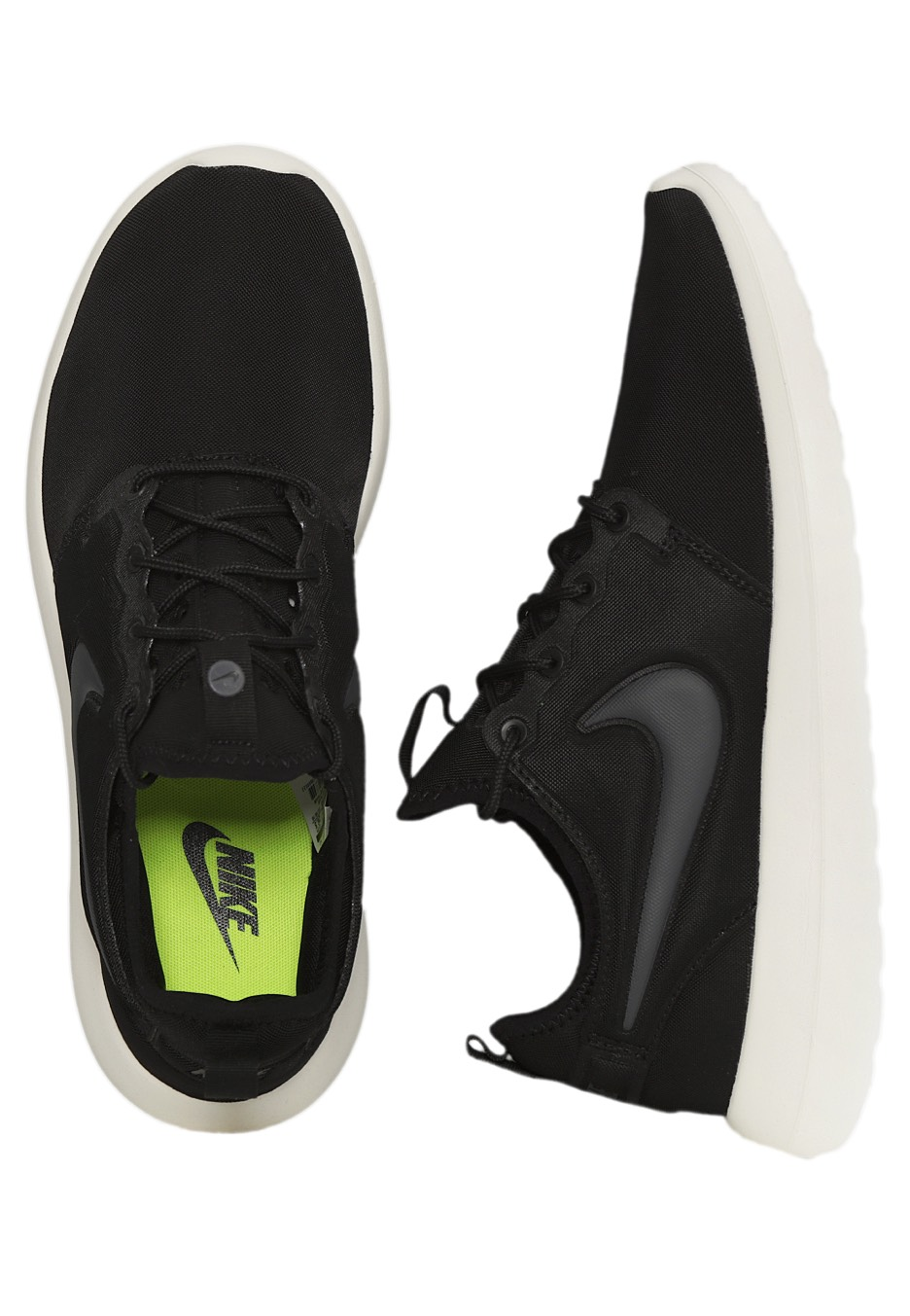 Nike Roshe Two Men 's Running Shoes Black / Black / Black Eastbay