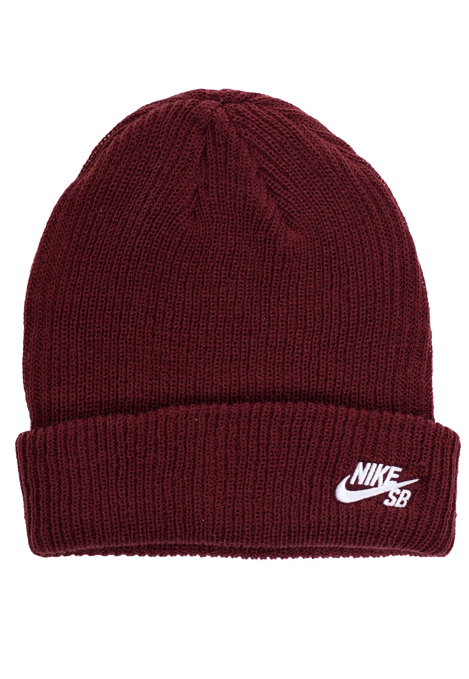 Nike - SB Fisherman Dark Team Red White - Beanie - Streetwear Shop -  Impericon.com Worldwide 15d1e90d43d