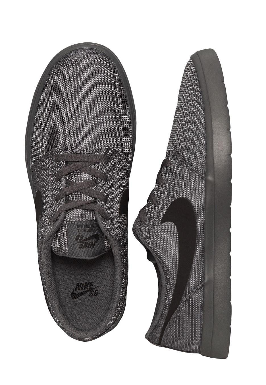 499a9be8813a Nike - SB Portmore II Ultralight Dark Grey Black - Shoes - Streetwear Shop  - Impericon.com US