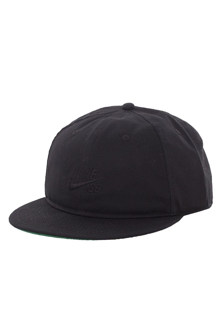 087cf426424 Nike - SB Pro Vintage Black Black - Cap - Streetwear Shop - Impericon.com UK