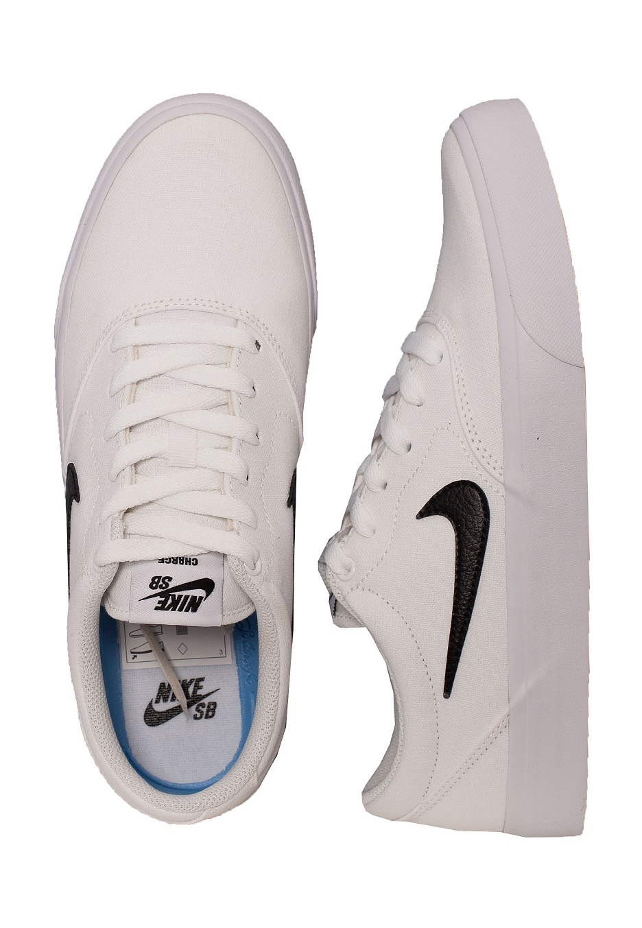 cáustico Atrevimiento Pero  Nike - SB Charge Solar White/Black/White/Gum/Light Brown - Shoes - Fashion  Shop - Impericon.com UK
