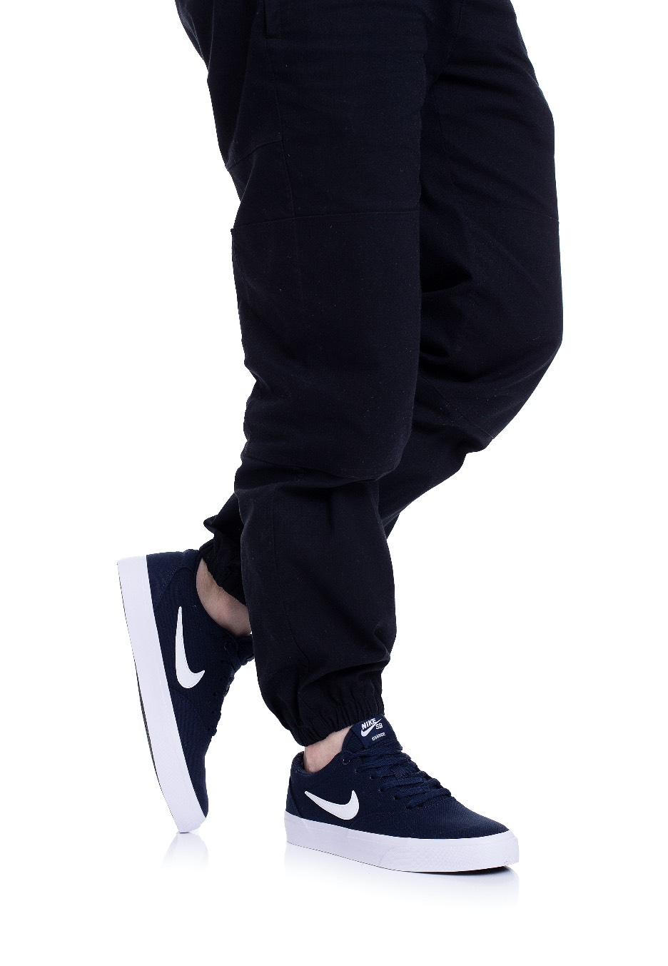 Nike - SB Charge Canvas Obsidian/White - Chaussures - Impericon.com FR