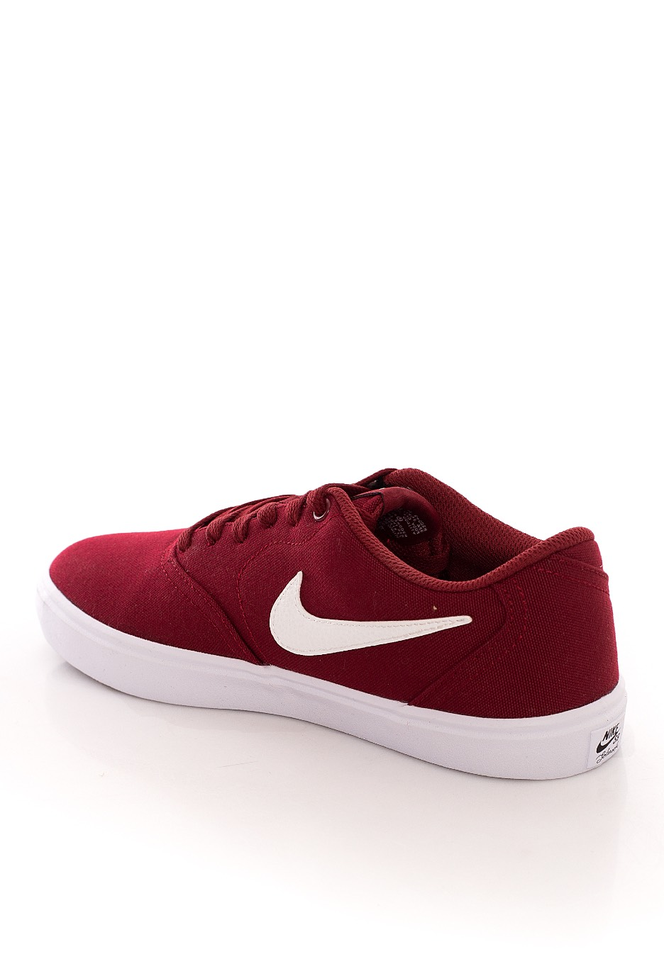 Nike - SB Check Solar Canvas Team Red/SMT White - Girl Shoes ...