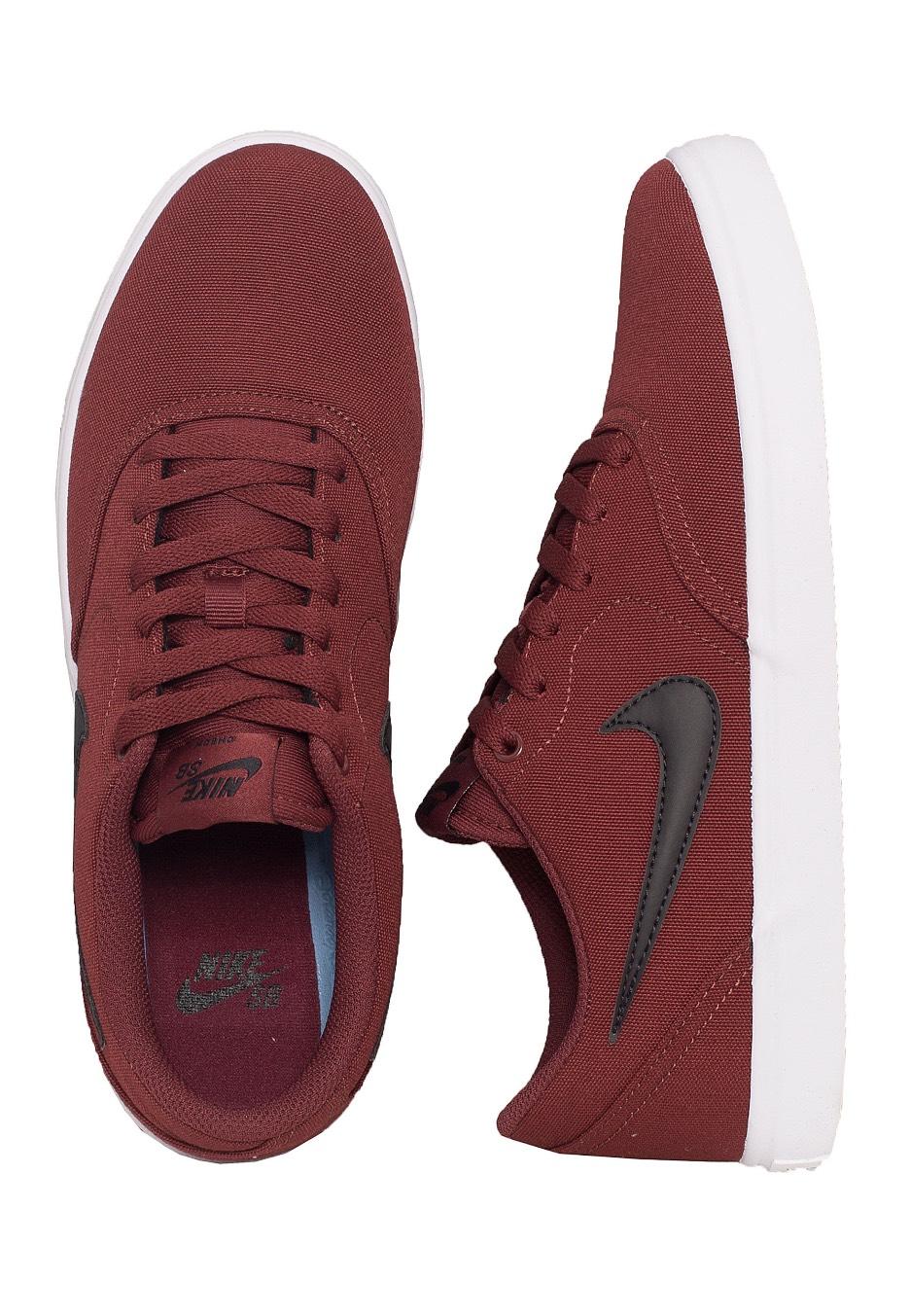 Nike - SB Check Solarsoft Canvas Skateboarding Dark Team Red Black White -  Shoes - Streetwear Shop - Impericon.com AU 3640c7fc8c6e