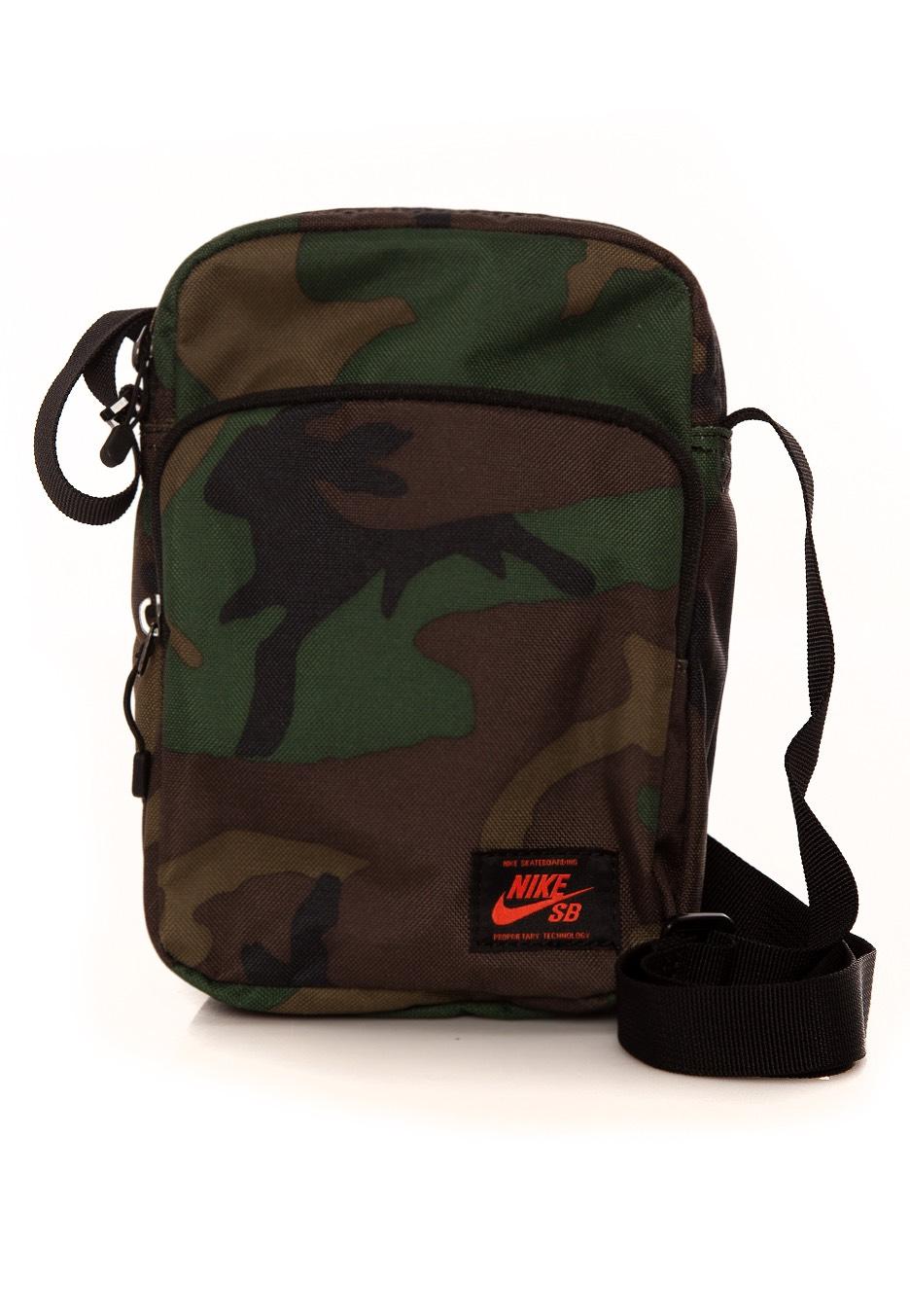 Nike Sb Heritage Iguana Black Team Orange Travel Bag