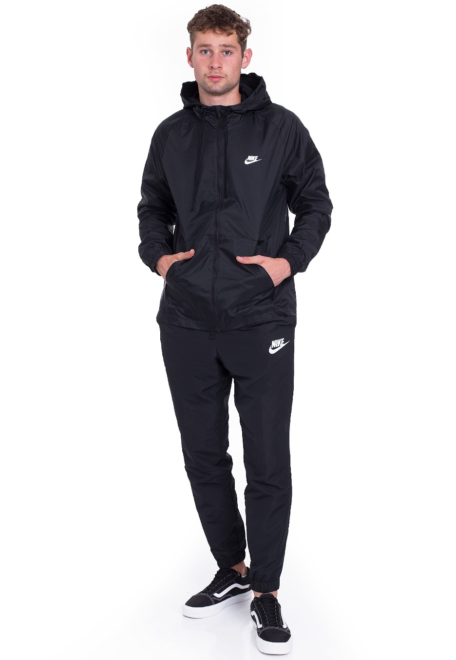 297519929f63 Nike - Sportswear Black Black White - Tracksuit - Streetwear Shop -  Impericon.com UK