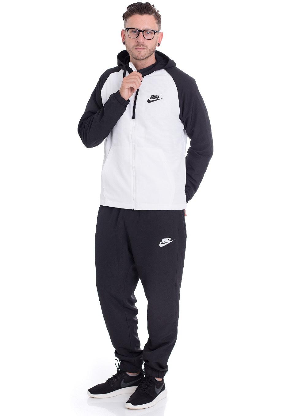d5c64281cff6 Nike - Sportswear Black White - Tracksuit - Streetwear Shop - Impericon.com  UK