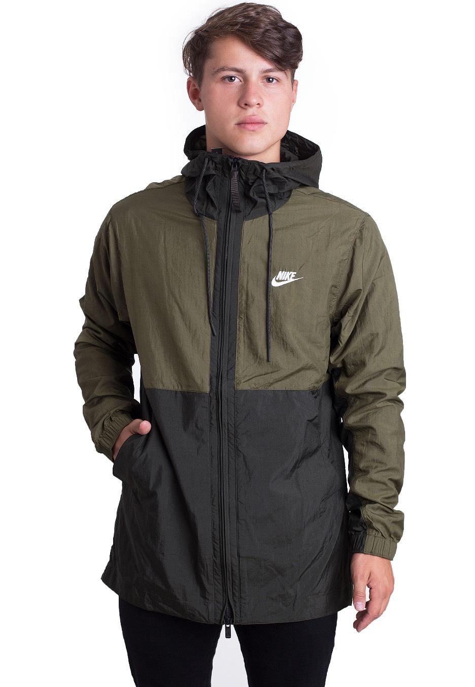 Nike - Sportswear Olive Canvas Sequoia White - Jacket - Streetwear Shop -  Impericon.com UK 26ddaf2b4f