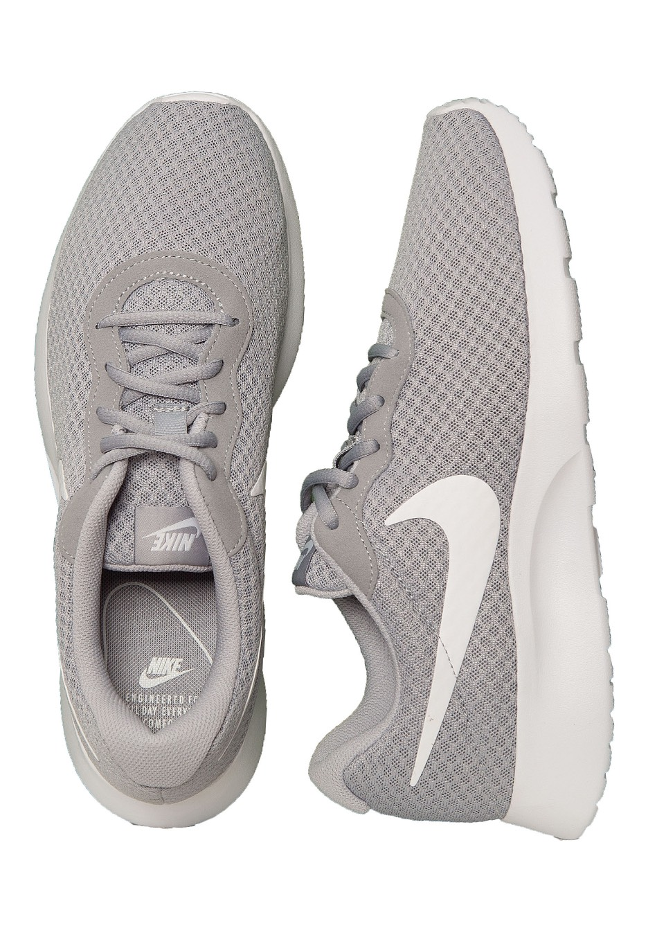 Nike - Tanjun Wolf Grey/White - Shoes