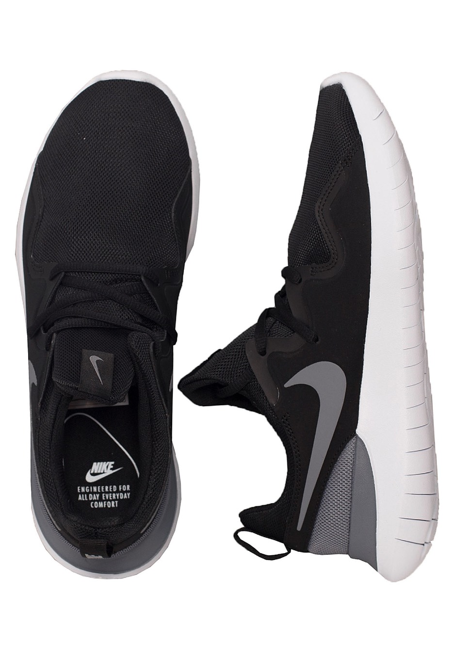 Nike Tessen Blackcool Greywhite Chaussures Fr Ruoxidqh-090114-8553562 In Many Styles Chaussures Confortables