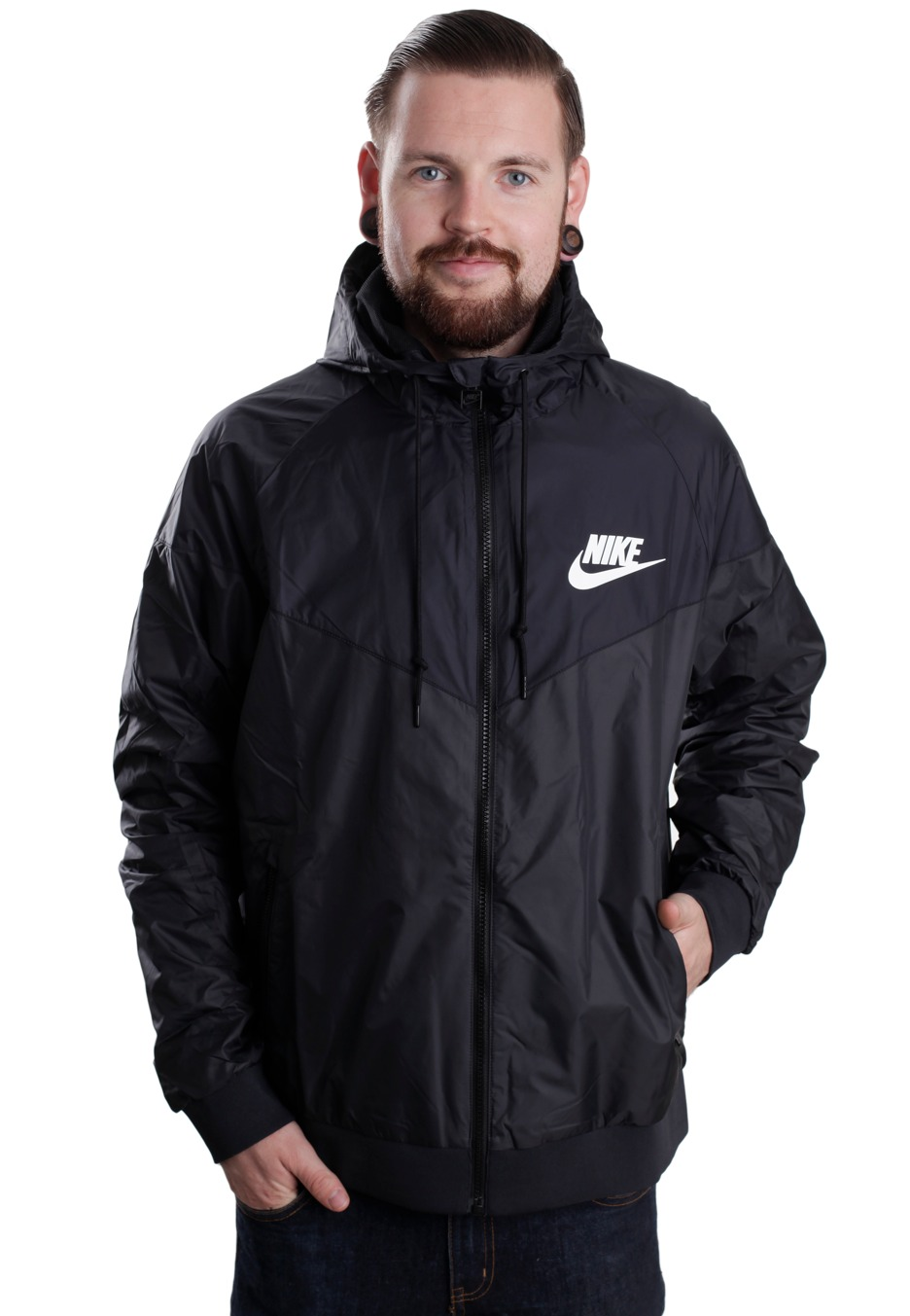 cdbc442ac9 Nike - The Windrunner Anthracite Black White - Windbreaker - Streetwear  Shop - Impericon.com Worldwide