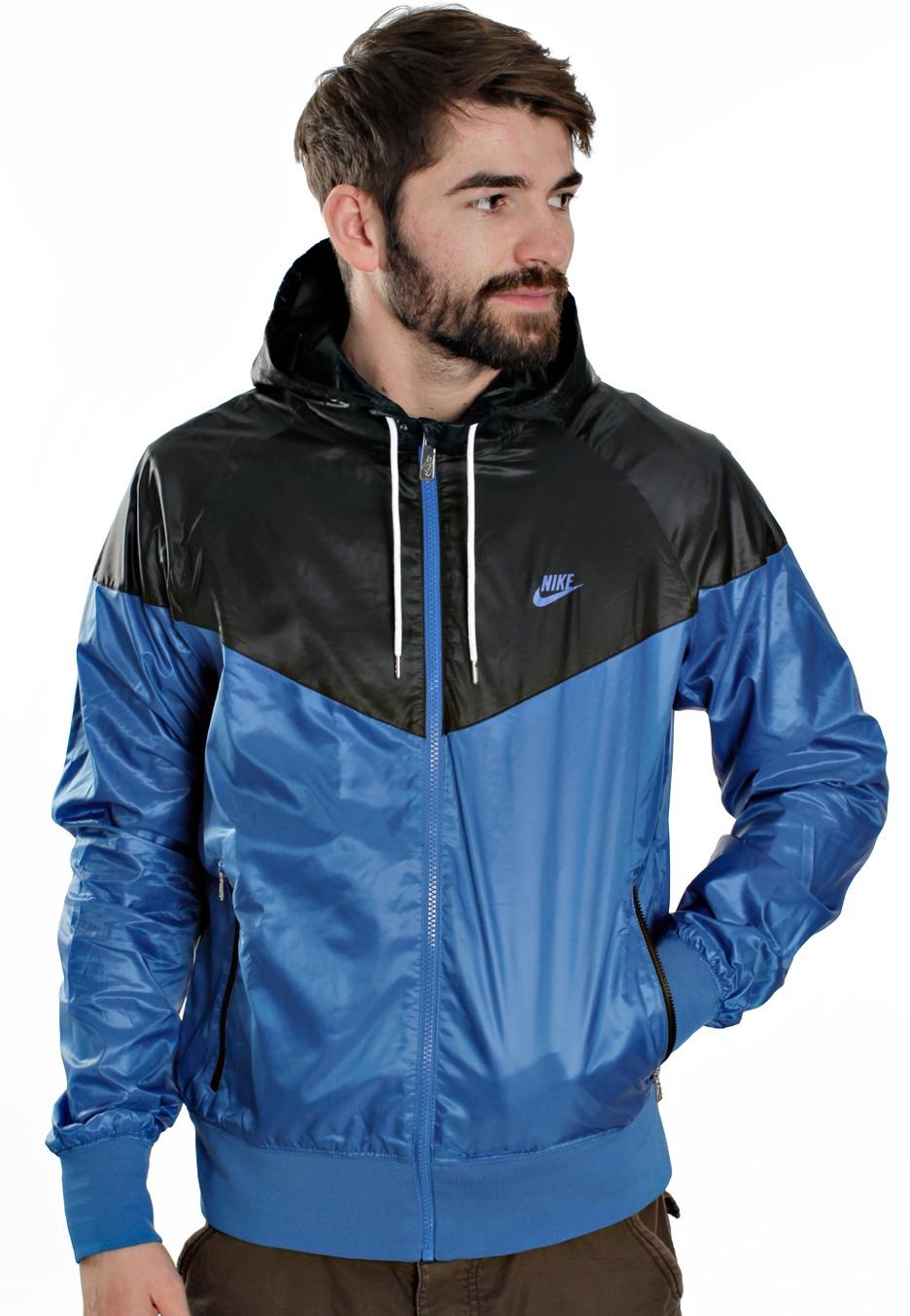 nike coat blue