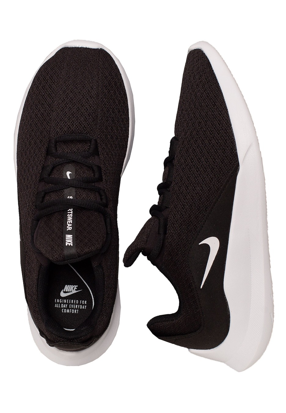 Marinero soldadura título  Nike - Viale Black/White - Girl Shoes - Fashion Shop - Impericon.com UK