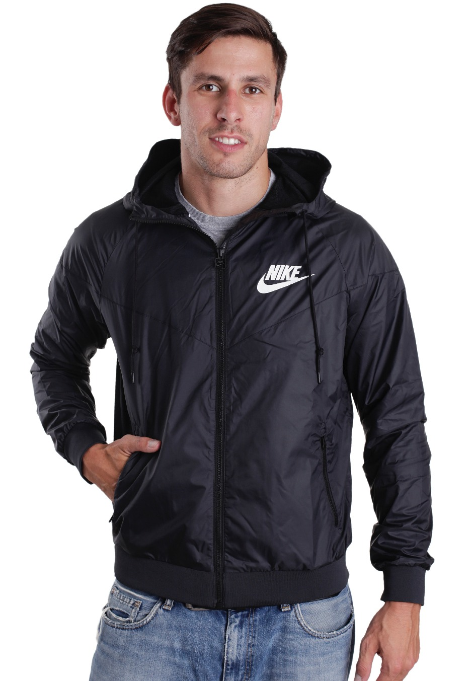 3124c7c3d2826f Nike - Windrunner Black Black White - Windbreaker - Streetwear Shop -  Impericon.com UK