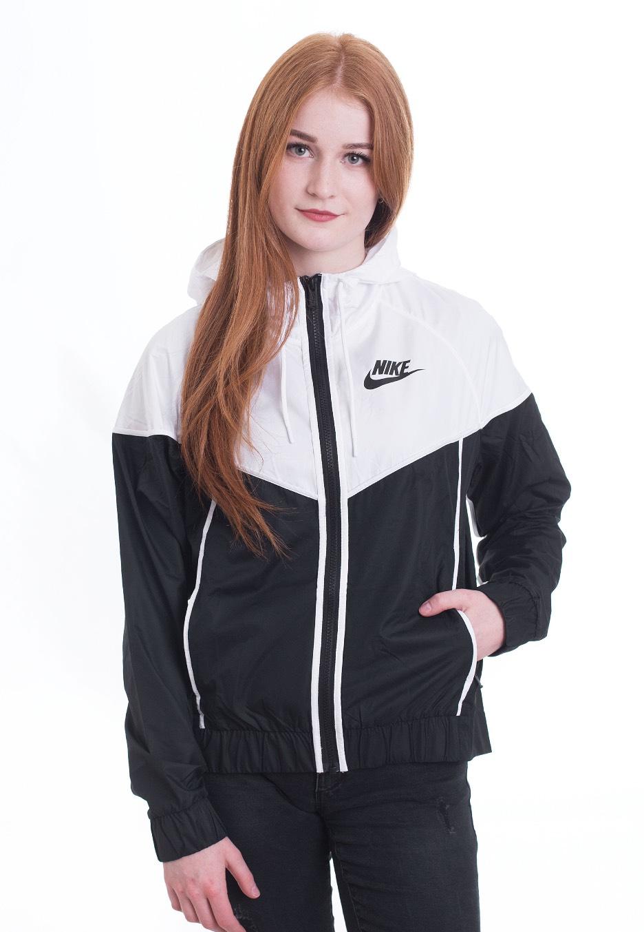 c7f3d61e84317 Nike - Windrunner Black/White/Black - Windbreaker