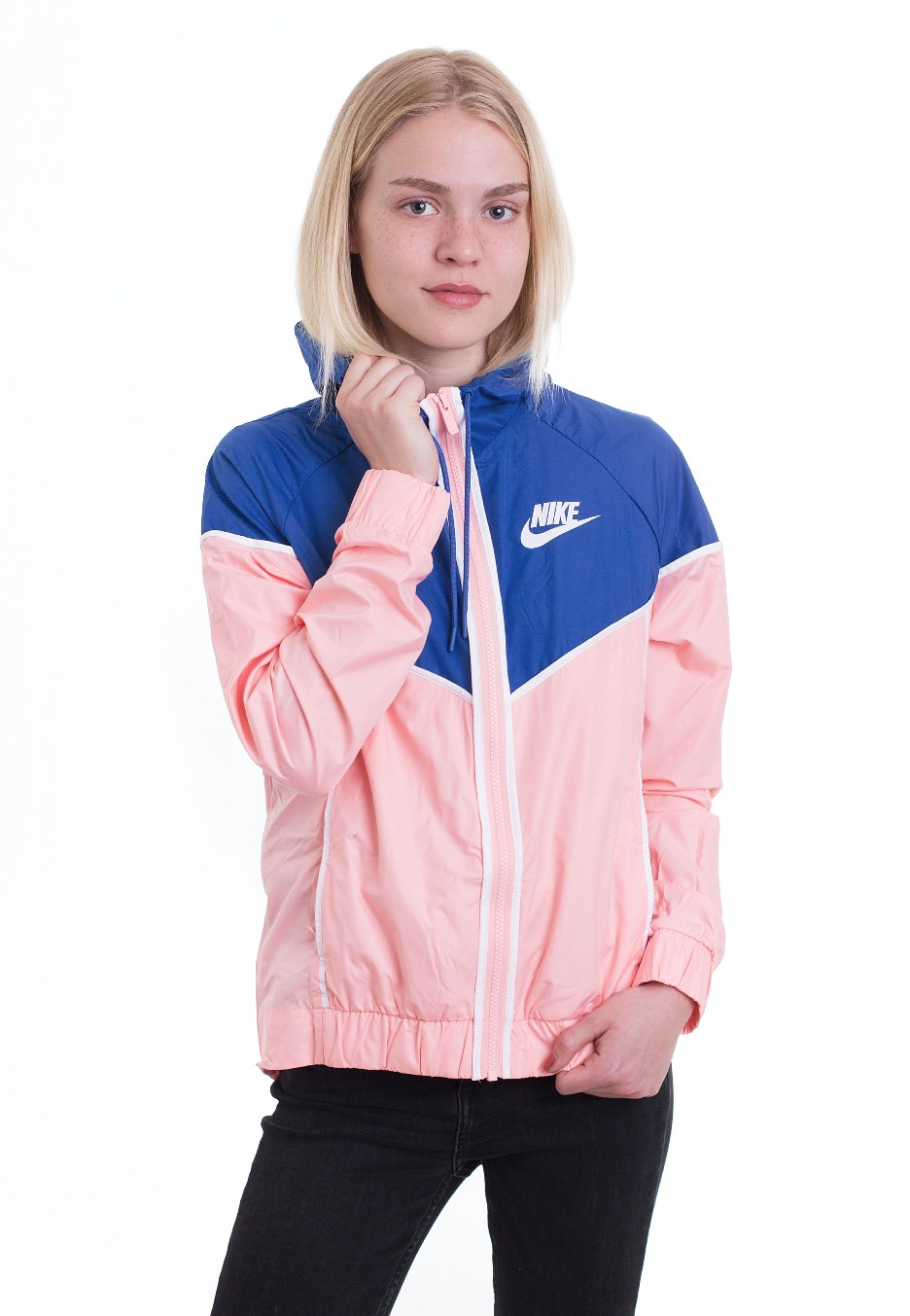b5fcff767d85 Nike - Windrunner Bleached Coral Game Royal White - Windbreaker -  Streetwear Shop - Impericon.com US