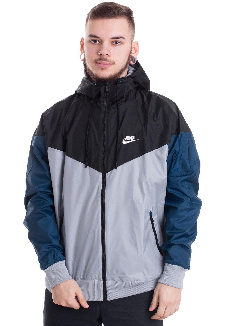 51d05773ff7d Nike - Windrunner Obsidian Mist Black Blue Force Sail - Windbreaker -  Streetwear Shop - Impericon.com Worldwide
