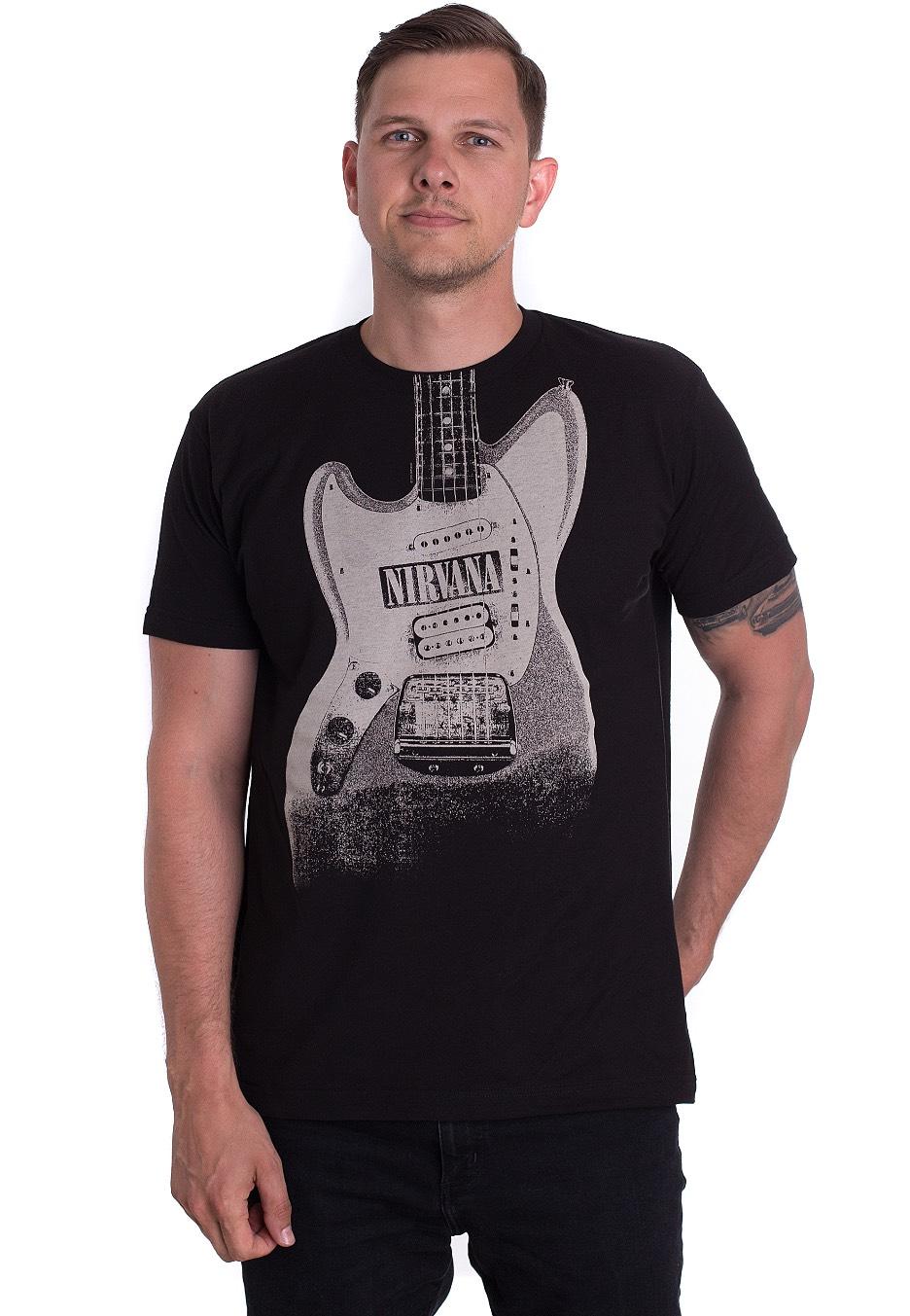 Nirvana - Guitar Image Discharge - - T-Shirts