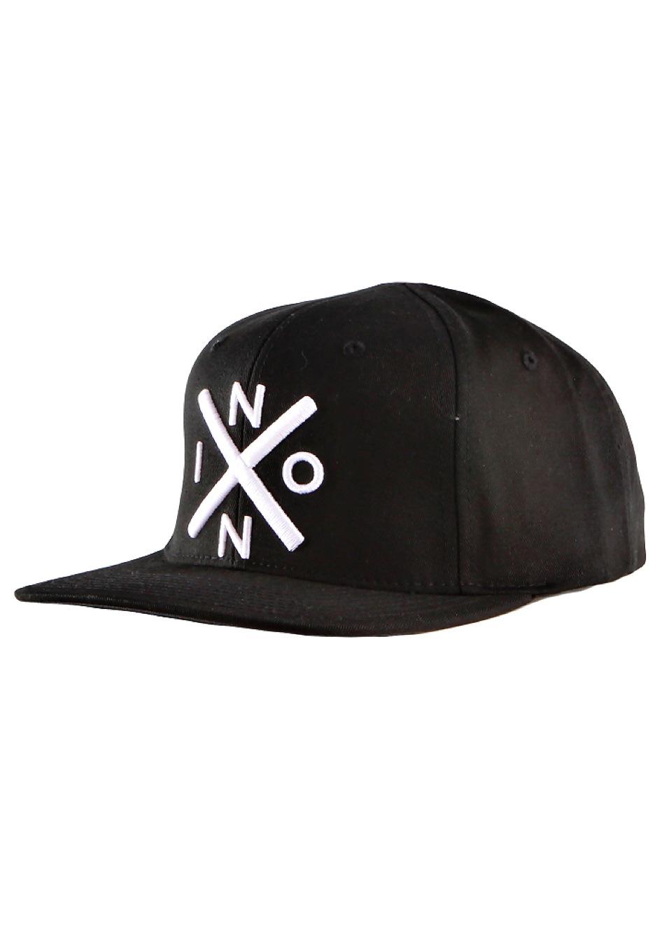 Nixon - Exchange Starter Black White Snapback - Cap - Impericon.com AU 8006aaf1bb7