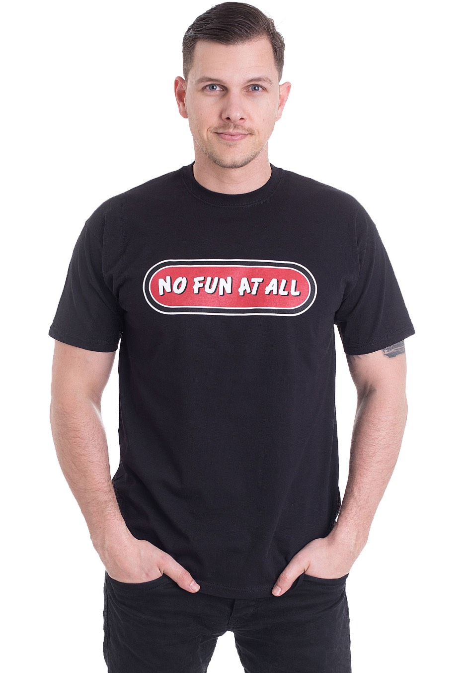 790eab9b4ef No Fun At All - Classic Logo - T-Shirt - Offizieller Pop Punk Merchandise  Shop - Impericon.com DE